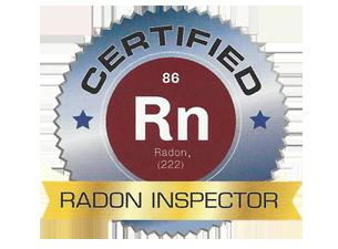 Certified Radon Inspector