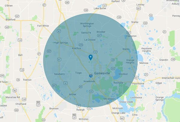MTS Inspections Gainesville Service Area