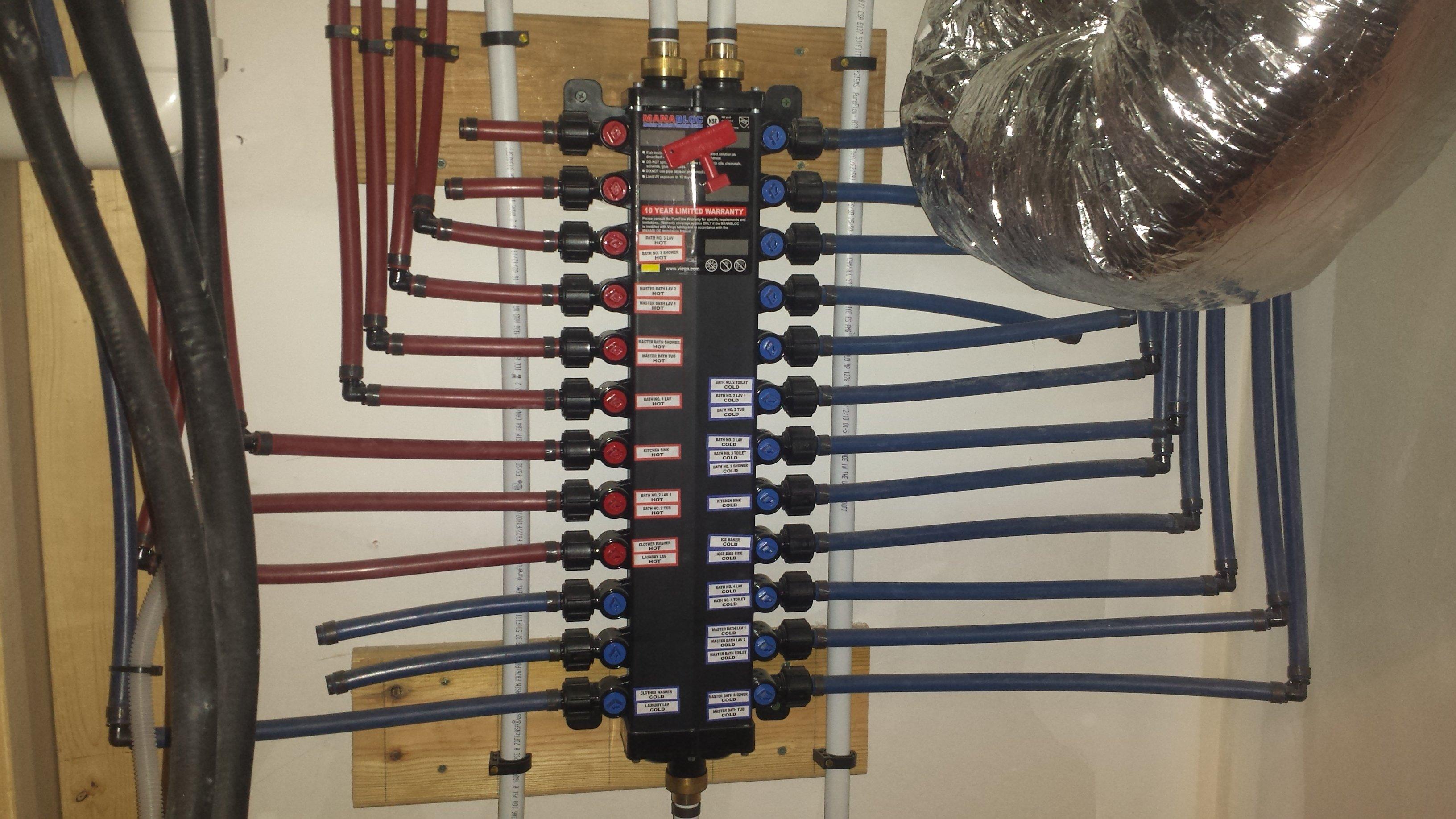 Plumbing Manifold